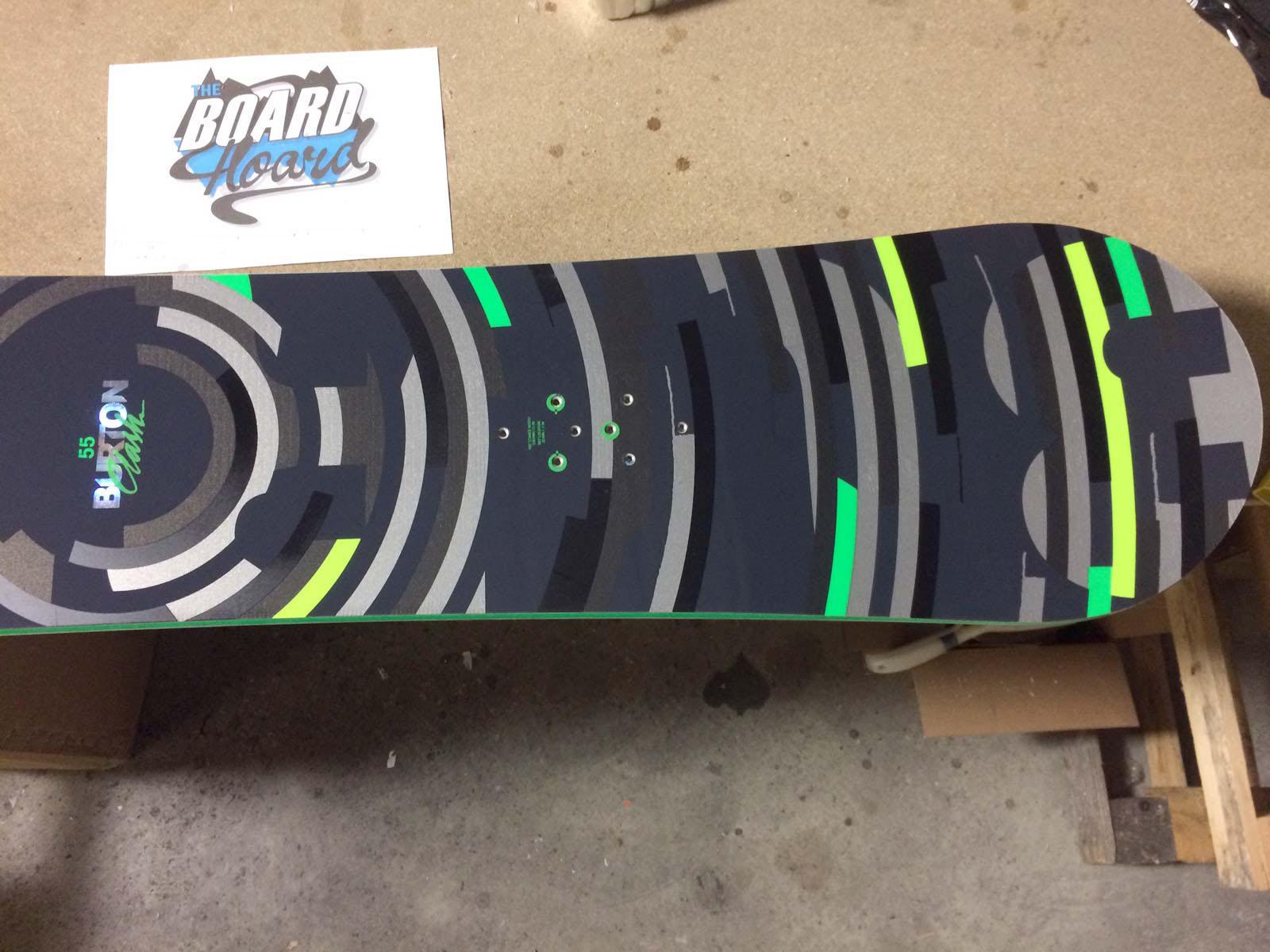 Used Burton Clash Rocker Snowboard 155cm - Excellent Condition - 9 ... b655c63ff