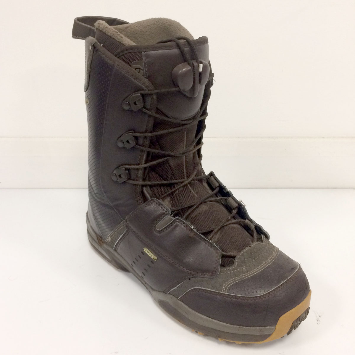 642337488d Used Salomon Dialogue Snowboard Boots - Mens UK 9.5 - OK Condition - 6/10
