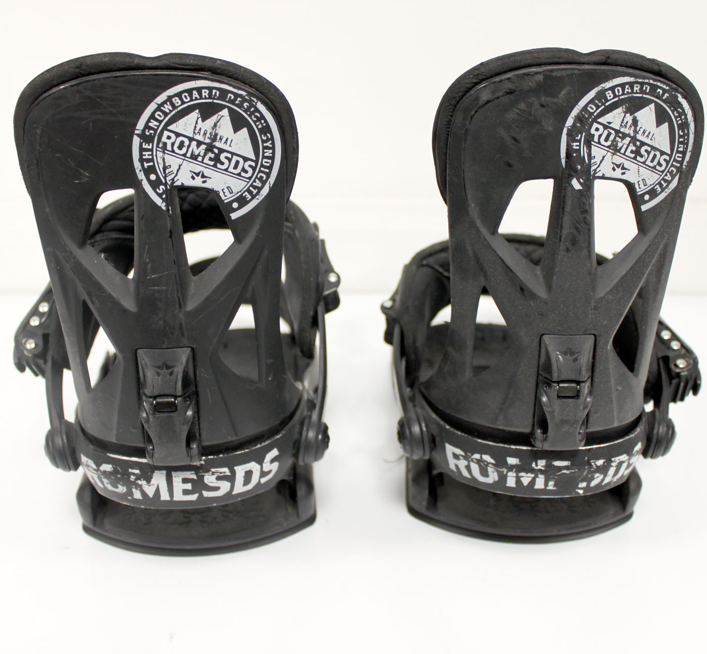 Used Mens Rome Arsenal SDS Snowboard Bindings